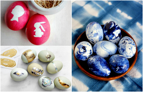17 изумительных идей декора яиц к грядущему празднику Пасхи