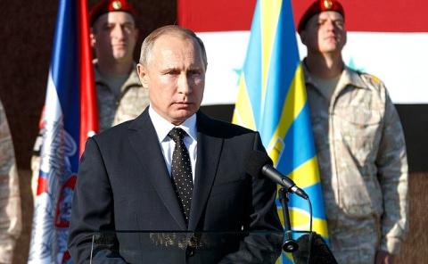 Владимир Путин посетил авиабазу Хмеймим в Сирии - НОВОСТИ НЕДЕЛИ