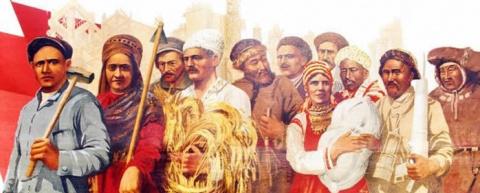 Таджиков и узбеков примут в русские
