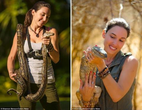 Бесстрашная фотограф из ЮАР …