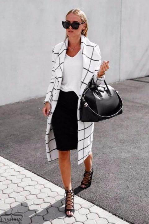 Базовый гардероб для женщины…