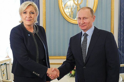 Поможет ли Путин Марин Ле Пе…