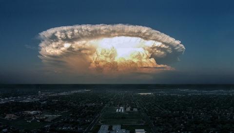Радиоактивный взрыв в Европе…