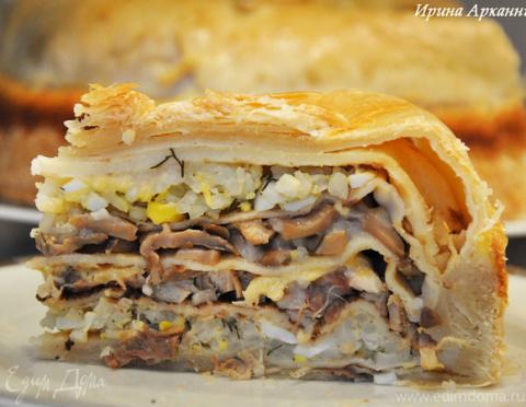 Курник — блинный пирог по-ст…