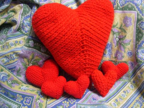 сердечки к дню св.Валентина