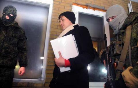 Савченко: пленные чувствуют себя хорошо в ДНР, смотрят российские телеканалы