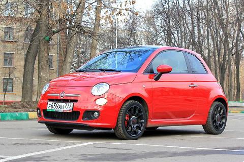 Эксперты назвали Fiat 500 самым надежным автомобилем