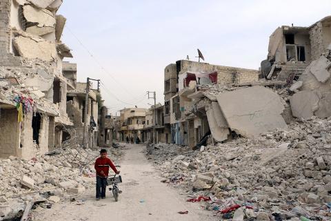 В Алеппо обнаружены боеприпа…