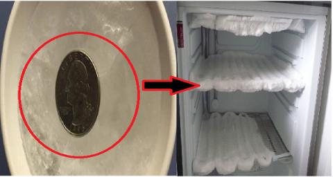 Зачем, перед тем, как выйти из дома, нужно оставить монетку в морозильнике?