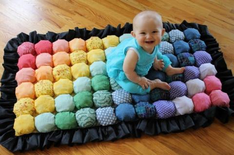 Как сшить потрясающее одеяло…