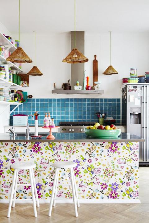 9 стилей для оформления кухн…