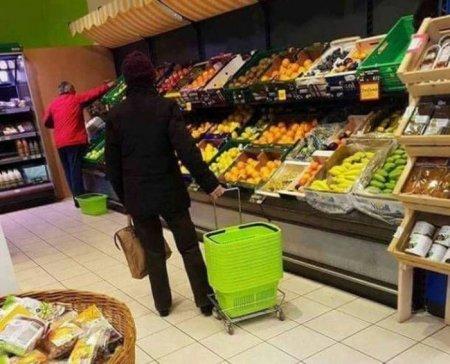 Забавные фото из супермаркет…