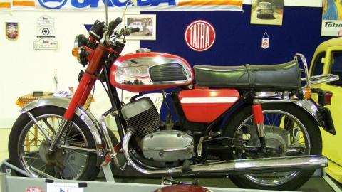 Легендарный мотоцикл «Ява» г…