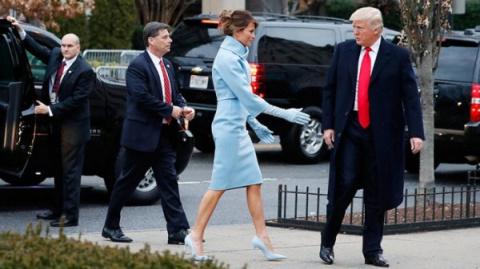 Уникальное унижение жены президента. ФОТО.