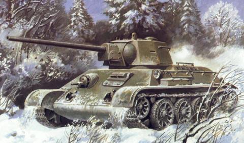 Поле боя. Т-34-57 - редкий т…