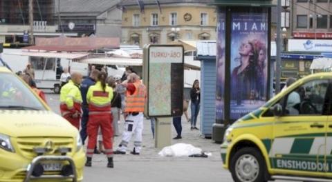 Резня в Турку: двое погибли, 8 ранены, инцидент пока не считается терактом