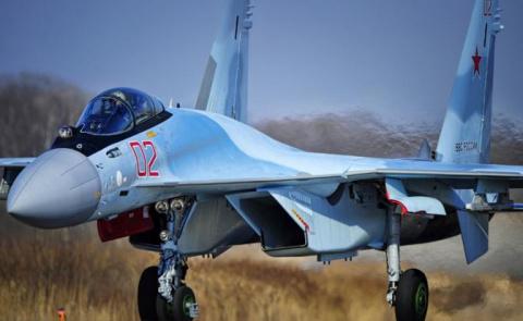 Почему F-22 испугался россий…