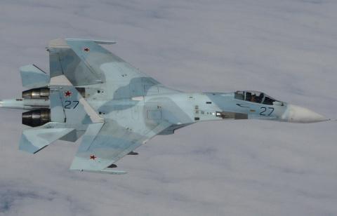 Российский Су-27 перехватил американский бомбардировщик В-52 над Балтийским морем