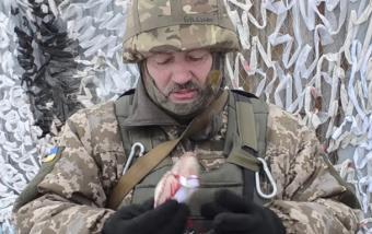 Украинские десантники: Войну…