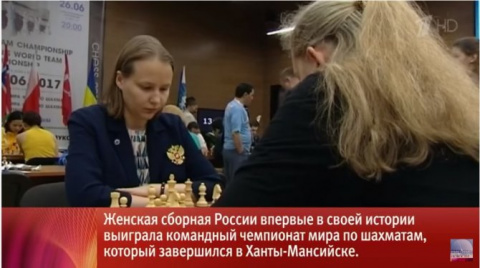 Женская сборная России вперв…