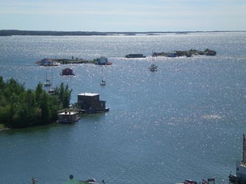 Самые большие по площади озера мира
