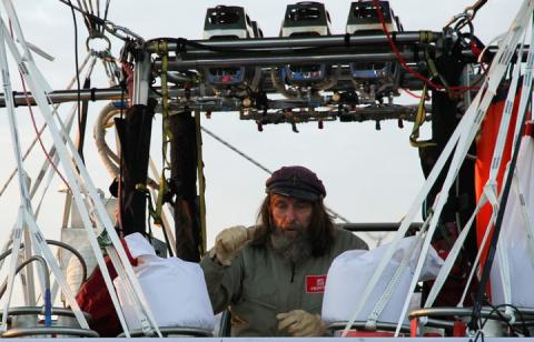 Федор Конюхов установил рекорд скорости кругосветного перелета на воздушном шаре
