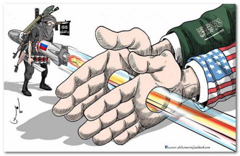 Мощный кулак во главе с США