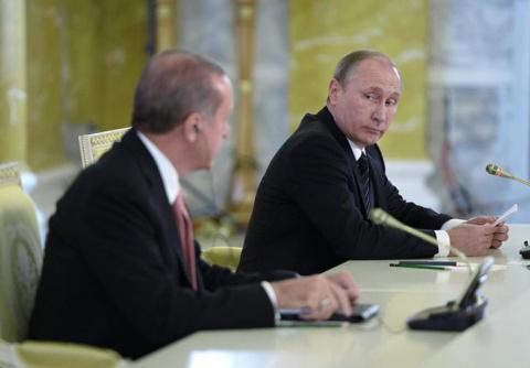 Эрдоган позвонил Владимиру П…