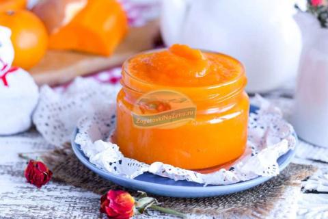 Посадим лето в банку Джем из тыквы и мандаринов - солнечное лакомство ароматное и очень вкусное