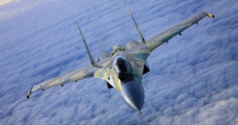 Нереальный пилотаж Су-35