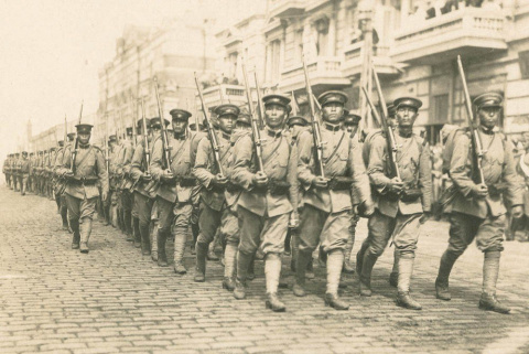 Японская интервенция на Дальнем Востоке 1918-1925 гг. Инфографика