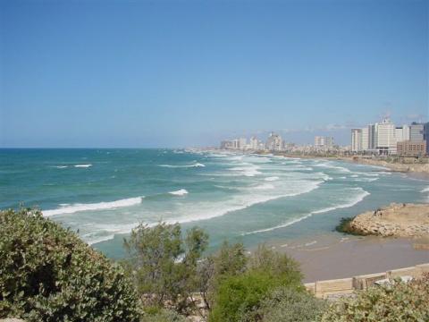Тель Авив, море