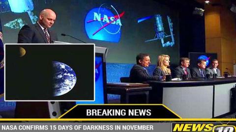 Наша планета на 15 дней погрузится в полную темноту: заявление NASA