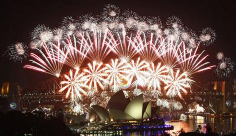 Как празднуют Новый год в ра…