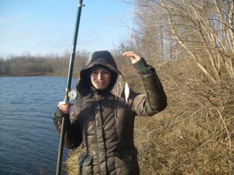 Рыбалка, Новый год и солнечное затмение