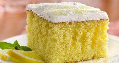 Лимонный пирог — десерт, кот…