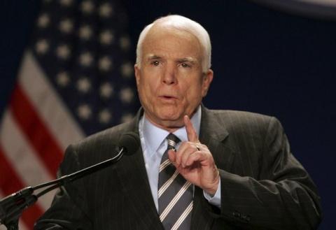 Маккейн тайно наведался в Си…