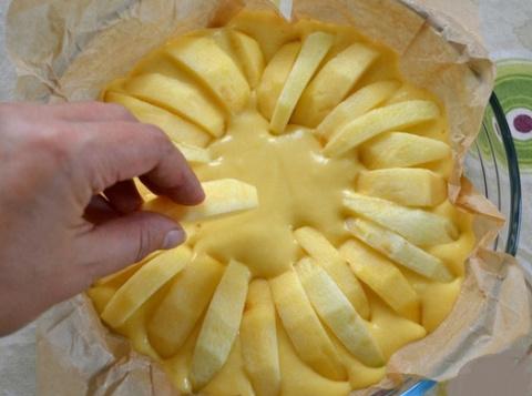 Для любителей выпечки с ябло…