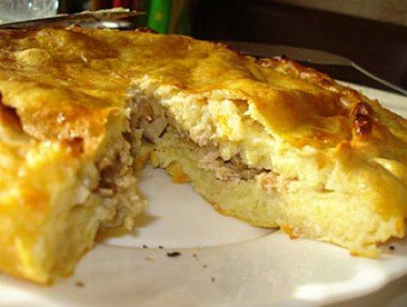 Пирог с картошкой — праздник…