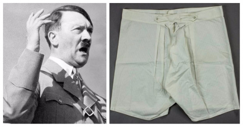 Кто-то купил старые трусы Гитлера за 5500 долларов