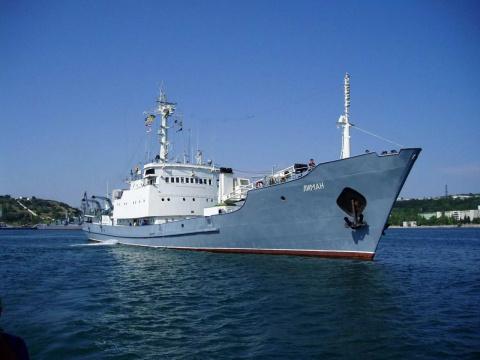 Корабль Черноморского флота …