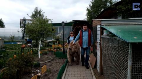 Русская семья держит дома 13…