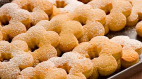 Медовое печенье за 12 минут