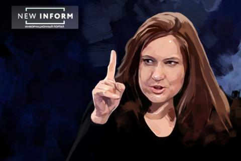 Монтян обличила политиков Киева: Напокупали паспортов и шляются по Крыму