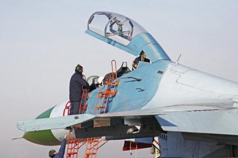 В США российский истребитель…