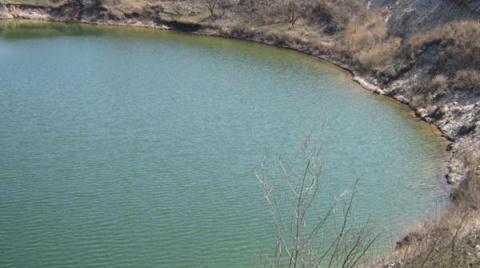 В Украине нашли озеро, в кот…