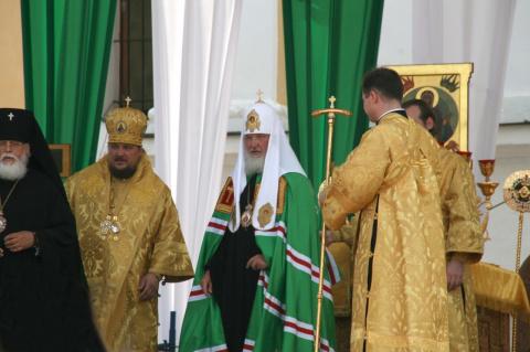 Празнование 900-летия Старицкого Свято-Успенского монастыря.