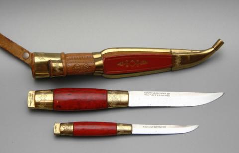 Кромка Севера: история ножа,…