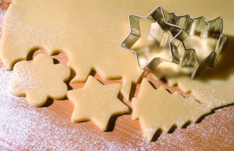 Вкусное НОВОГОДНЕЕ песочное печенье