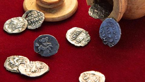 СМИ: в Яузе нашли монету сто…